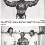 RÖRANDE TIDNINGEN HERCULES 1984-39,Kent Kristofersson med Erling under SM 1983
