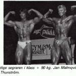 RÖRANDE TIDNINGEN HERCULES 1984-74,EM kval 1984 i Västerås,Janne vinnare!!