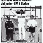 RÖRANDE TIDNINGEN NYA KRAFTSPORT 1984-74,Peter Andersson brons