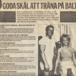 RÖRANDE 10 GODA SKÄL ATT TRÄNA PÅ BALTIC 1985-62A 001