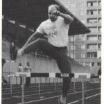 RÖRANDE 1985-32,Mats Lindström deltar i Zebraton Lödderharpas 001