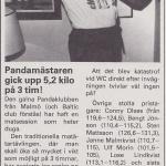 RÖRANDE B&K 1985-64,Pandamästare Mats Sjöberg