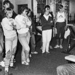 RÖRANDE B&K SPORTS MAGAZINE 1982-96,Bobo instruerar