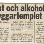 RÖRANDE KVÄLLSPOSTEN 1987-1