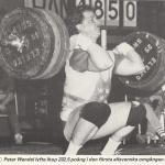 RÖRANDE TIDNINGEN NYA KRAFTSPORT 1987 - 7,Peter Wendel