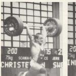 RÖRANDE TIDNINGEN NYA KRAFTSPORT 1987 - 10,John Christensen