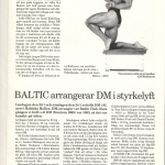 RÖRANDE BALTIC NEWS 1988 - 11 001