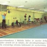 RÖRANDE KURIOSA-3,Baltiska Hallens skivstångshall 1970 001