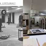 BCs lyftarlokal-idag Mö idrottsmuseums källararkiv