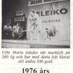 Hercules med Bodybuilding-Ulf Morin SM-76