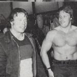 Hercules med Bodybuilding 1977-SM i Tyngdlyftning,Ulf Morin th