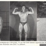 Hercules med Bodybuilding-Mr Foto 1978 1an o 2 an Baltic Clubare