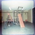 Patenterad träningsmodul(kallad Jätten) av MALTEK-foto hösten 1970,Baltiiska Hallen Mö