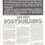 RÖRANDE EM I BODYBUILDING 1983 i Hercules 1983 nr 7-8 sid 1