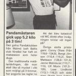 RÖRANDE B&K 1985 NR 4,PANDAKLUBBEN