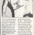 RÖRANDE B&K 1986 NR 5,PANDAKLUBBEN