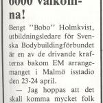 RÖRANDE B&K 1983 NR 1