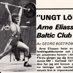 RÖRANDE TIDNINGEN NYA KRAFTSPORT 1976-18,Arne Eliasson