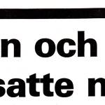 RÖRANDE TIDNINGEN NYA KRAFTSPORT 1985-83
