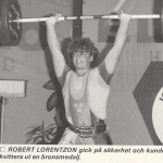 RÖRANDE TIDNINGEN NYA KRAFTSPORT 1987 - 9,Robert Lorentzon