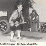 RÖRANDE TIDNINGEN NYA KRAFTSPORT 1987 - 8,John Christensen