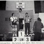 RÖRANDE TIDNINGEN HERCULES 1976-15,SM i styrkelyft 1975