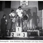 RÖRANDE TIDNINGEN HERCULES 1976-16,SM i styrkelyft 1975