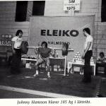 RÖRANDE TIDNINGEN HERCULES 1976-20,SM i styrkelyft 1975