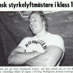 RÖRANDE TIDNINGEN HERCULES 1976-8,Gert Jeppsson,stort framtidslöfte