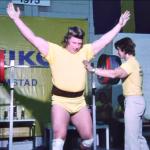 SVTPLAY SM i STYRKELYFT 1975 -Mats Tångberg svenskt rekord