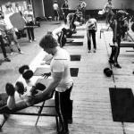 RÖRANDE Bilder i Syd Baltiska hallens skivstångshall januari 1979