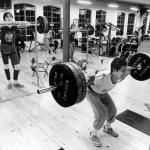 RÖRANDE Bilder i Syd Baltic Club Gym bild 3,1981