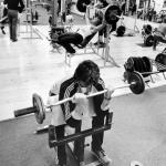 RÖRANDE Bilder i Syd Baltic Club Gym bild 4,1981