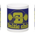 Baltic Club Mugg blågul