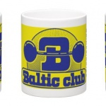 Baltic Club Mugg gulblå