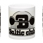 Baltic Club Mugg svarvit