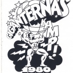 Klisterdekal Giganternas kamp 1980,Baltic Club