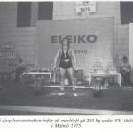 Rörande - Hercules med Bodybuilding  1976 nr 12 bild 1 av 2 - SM i Styrkelyft 1975