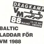 RÖRANDE BALTIC NEWS 1987 NR 1 - 31