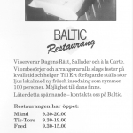 RÖRANDE BALTIC NEWS 1987 NR 1 - 33