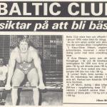 RÖRANDE NYA KRAFTSPORT 1977 NR 6-Baltic Club SM siktar på att bli bäst ,igen