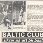 RÖRANDE NYA KRAFTSPORT 1977 NR 6-Baltic Club SM siktar på att bli bäst