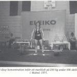 Hercules med Bodybuilding  1976 nr 12 bild 1 av 2 - SM i Styrkelyft 1975