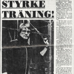 RÖRANDE SYDSVENSKAN 1975-4A,FÖRSTA ARTIKELN OM BALTIC CLUB