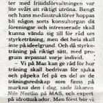 RÖRANDE SYDSVENSKAN 1975-5,FÖRSTA ARTIKELN OM BALTIC CLUB,TEXTEN