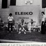 RÖRANDE TIDNINGEN HERCULES 1976-13,SM i styrkelyft 1975