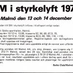 RÖRANDE TIDNINGEN NYA KRAFTSPORT 1975- 9