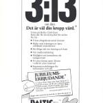 RÖRANDE JUBILEUMSERBJUDANDE 1985