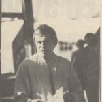RÖRANDE INFÖR WM I DRAGKAMP 1988 ,verksamhetschef Bo Segerberg