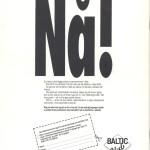 RÖRANDE PROGRAMTIDNING WM I DRAGKAMP 1988 BAKSIDA